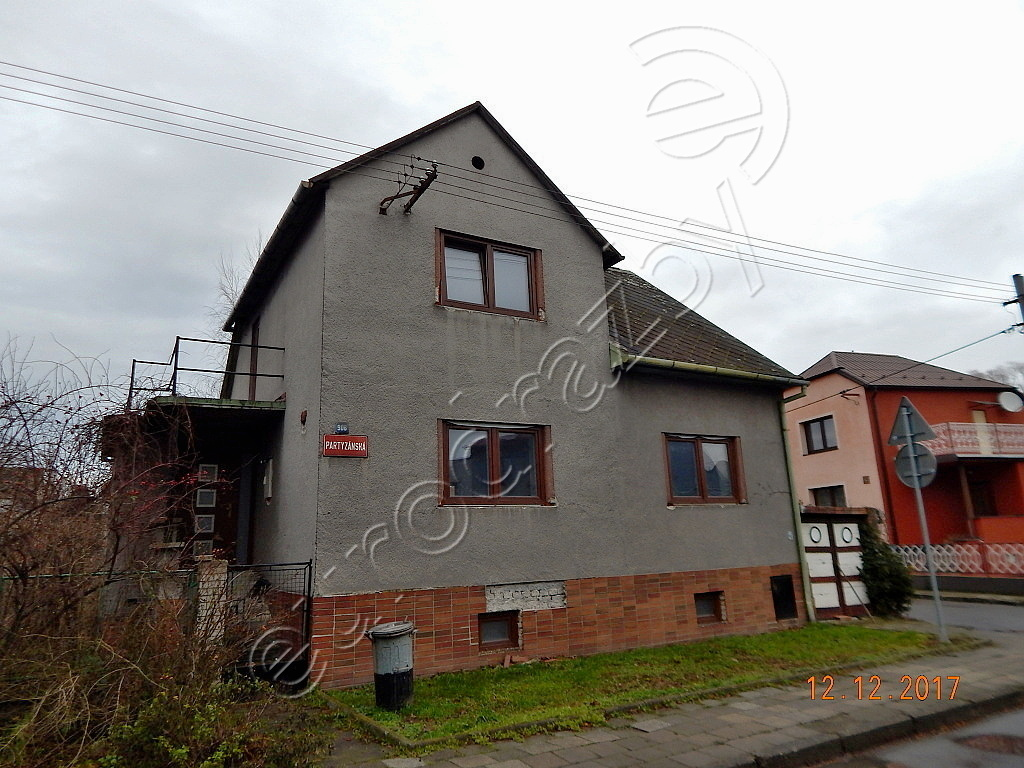 Rodinný dům v obci Hulín, okres Kroměříž